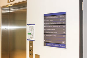 campus signage and wayfinding