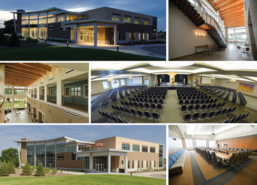 University of Wisconsin–Oshkosh: Alumni Welcome and Conference Center