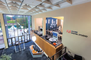 University and Adobe collaborative space