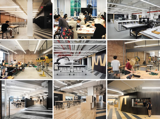 Parsons School Of Design The New School S Making Center Spaces4learning