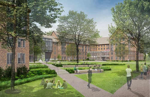 Residence Hall Planned At Duke University Spaces4learning