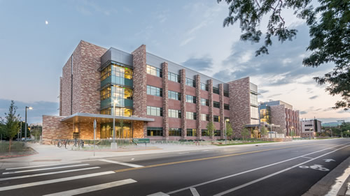 Colorado State University bioengineering building