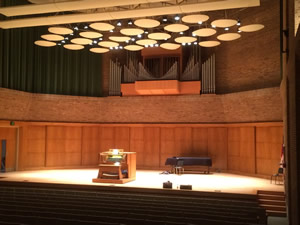 Rosen Concert Hall at the Hayes School of Music