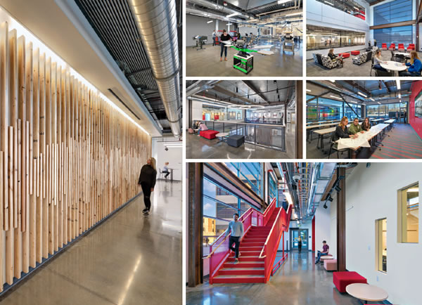 Colorado State University The Nancy Richardson Design Center Spaces4learning