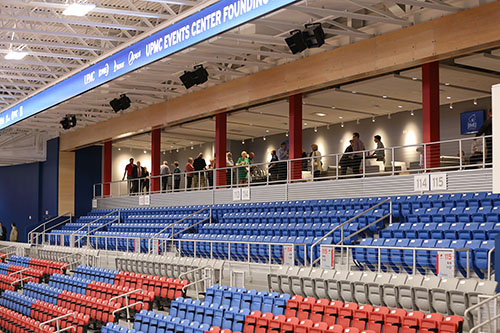 Robert Morris University Events Center Seating