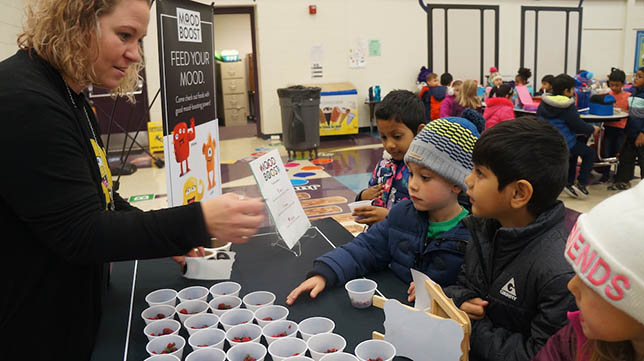 "Chartwells K12, the largest K-12 foodservice provider, recently launched their ""Mood Boost"" program to help elementary and middle school students learn how the food they eat may impact their mood."
