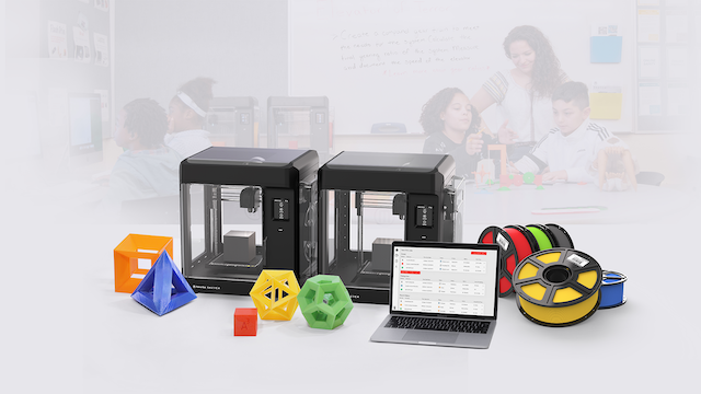 Makerbot, a 3D printer company and subsidiary of Stratasys, recently launched MakerBot SKETCH Classroom, a 3D printing setup for the classroom that maximizes student access and helps teachers manage printing resources and student projects.