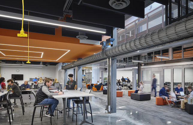 Missouri Innovation Campus: photo ©Michael Robinson, courtesy of DLR Group
