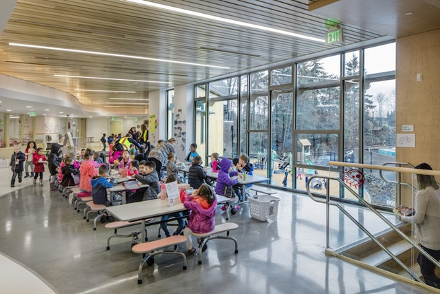 Pathfinder Kindergarten Center: photo ©Chris Roberts, courtesy of DLR Group