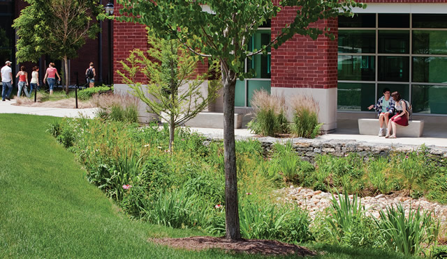 University of Connecticut green infrastructure