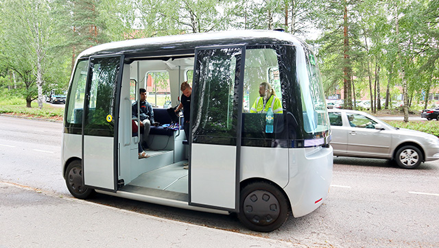 Autonomous Shuttle Vehicle