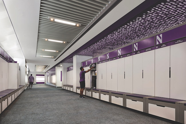 Football Locker Room Credit: Paul Kennedy