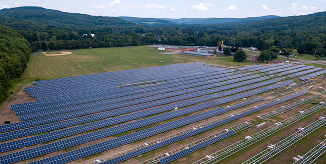Maine-Endwell School District Solar Energy