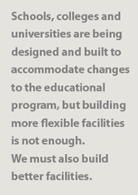we must build better facilities