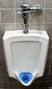 water-conserving urinal