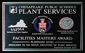Facilities Masters Award