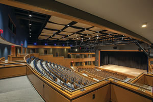 band and choral room acoustics design