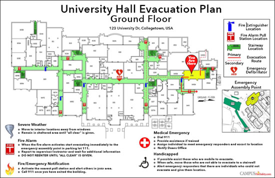 Emergency Egress Plans Spaces4learning