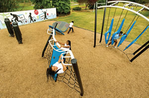 Outdoor School Playground