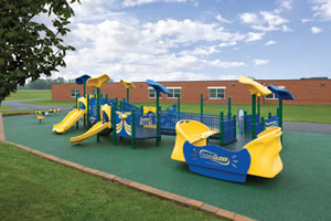 Outdoor School Playground Equipment