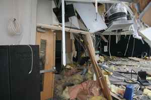 school tornado damage