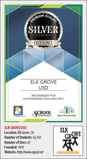 Healthy Facilities Silver Standard of Excellence