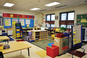 early childhood learning space