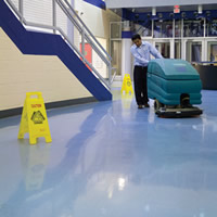 maintenance cleaning floors