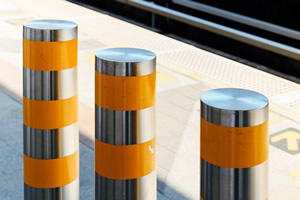school security bollards