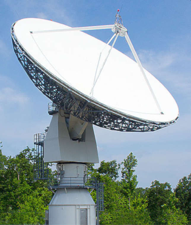Morehead Takes Delivery of Second Space Antenna