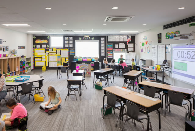 Wisner-Pilger Public School Addition -- Spaces4Learning
