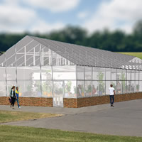 University of Maine greenhouse