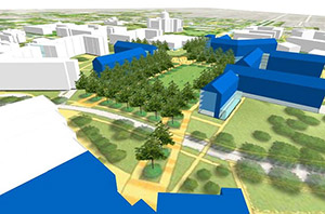 University of Kentucky proposed housing complex