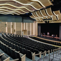 Flexible auditorium space