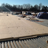 school roof installation