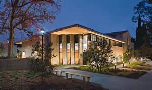 Millikan Laboratory and Andrews Science Hall