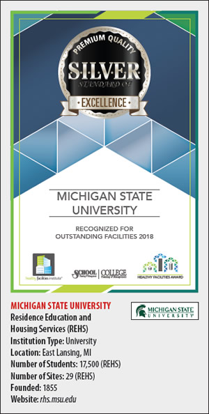 Michigan State University Silver Excellence Award