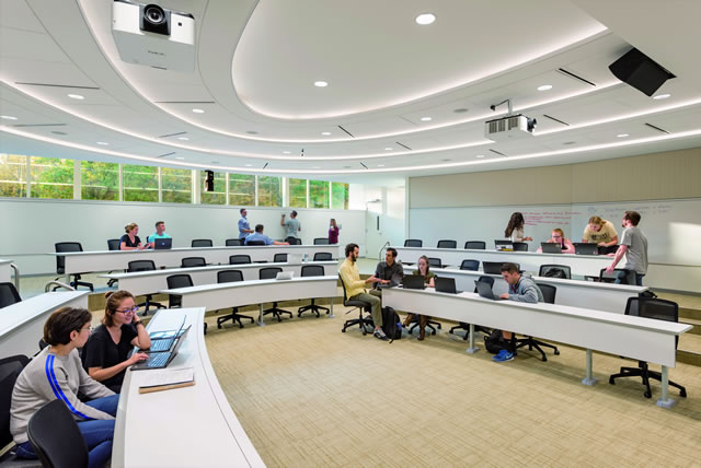 Innovative Classroom Approach : Academic innovation center spaces learning