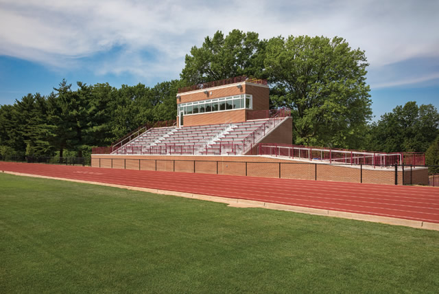 Steward Family Aquatic Center, Ron Holtman Stadium and Holekamp Track and Field Stadium