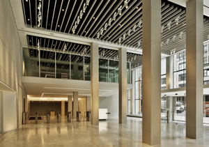 Pomerantz Lobby Expansion and Art Galleries