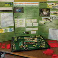 21st century education redesign display