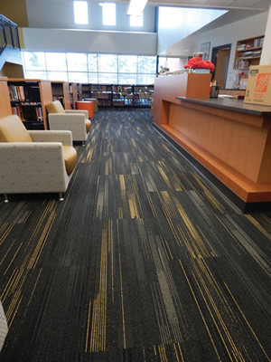school media center floor
